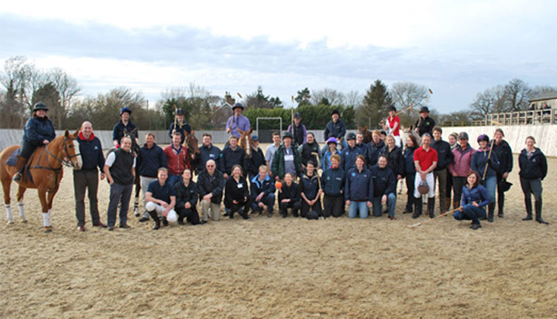 XLVets Equine Group Photo